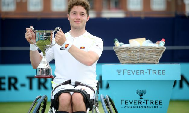 London | Hewett makes history at Queen's