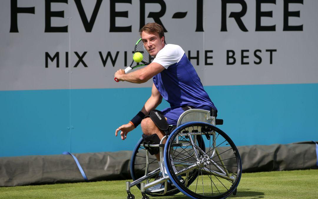 London | Brit trio of Bailey, Hewett and Reid make wheelchair semis.