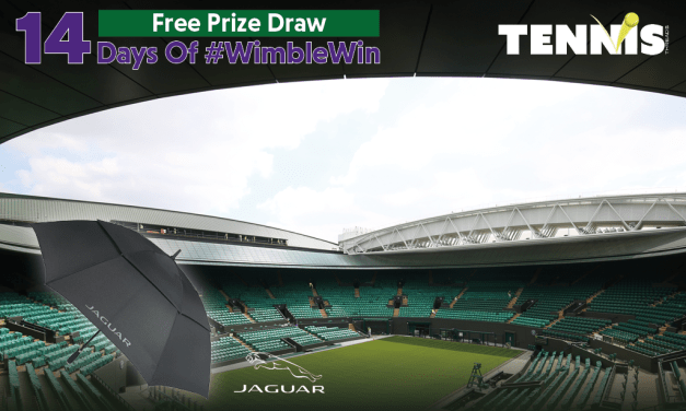 #WimbleWin Day 7 | Jaguar Umbrella