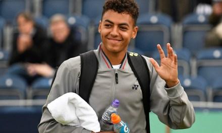 Wimbledon   Jubb, the NCAA champion realises dream
