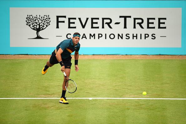 London | Del Potro successfully tests his knee | Tennis