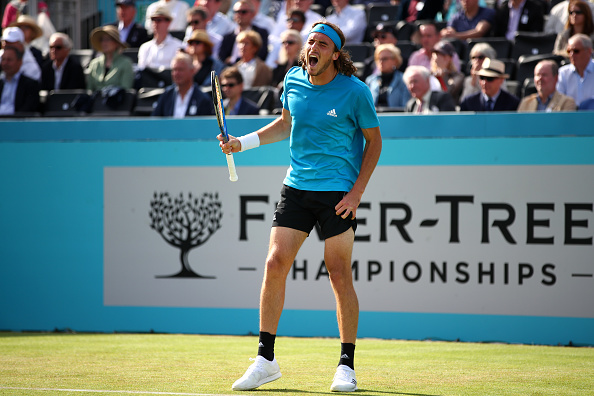 London | Tsitsipas hangs on as Cilic, Wawrinka, and Anderson fall.