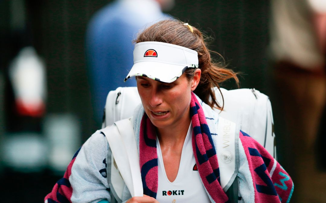 Wimbledon | Konta gets upset by opponent and media