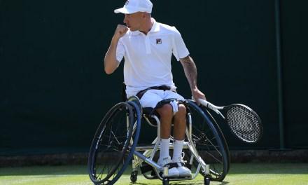 Wimbledon | Andy Lapthorne makes quad singles final