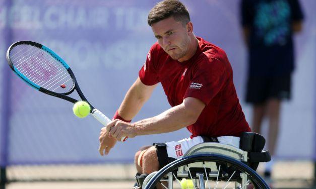Nottingham   Reid and Lapthorne through British Open semi-finals