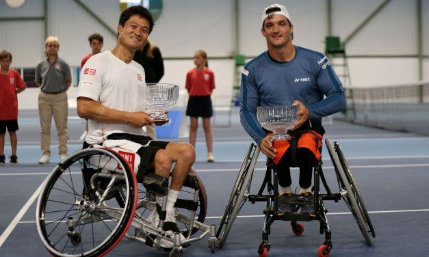 Nottingham   British Open Double Titles decided; Lapthorne set for Quad Singles Final