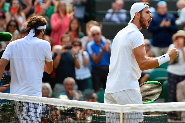 Wimbledon   Khachanov powers past Lopez