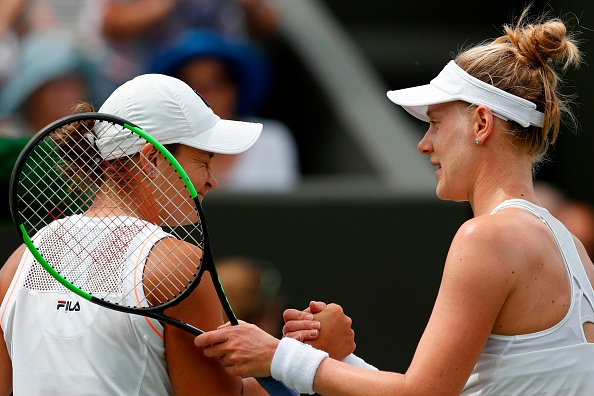 Wimbledon | Barty beaten by Riske