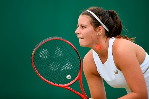 Junior Wimbledon | Navarro and Noel fly US flag in girls semis