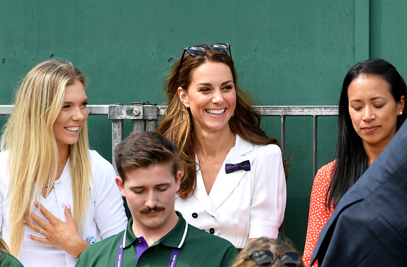 Wimbledon | Surprise Royal visit