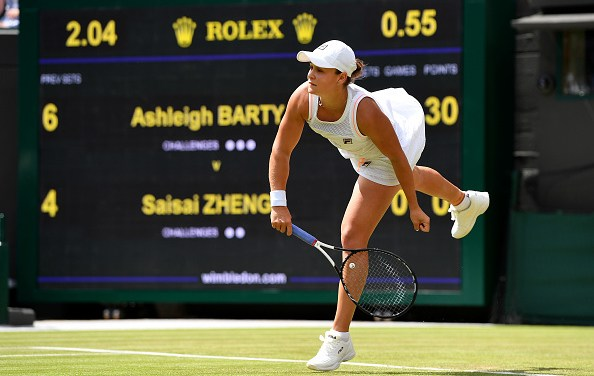 Wimbledon | Barty breezes through on sacred turf