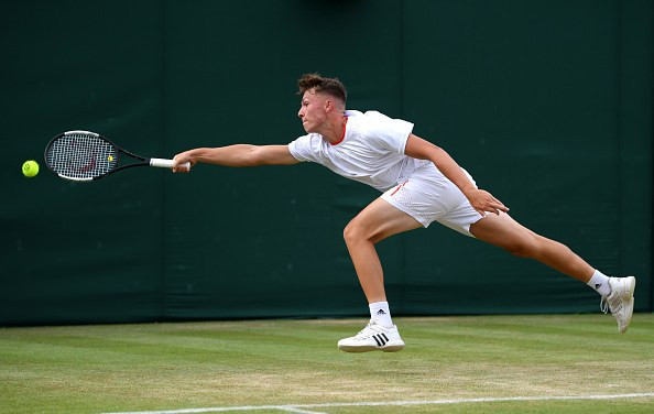 Wimbledon Juniors |  Story sees off second seeded boy