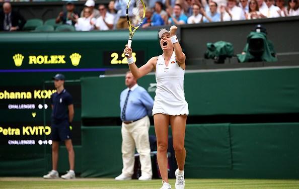 Wimbledon | Konta takes out Kvitova