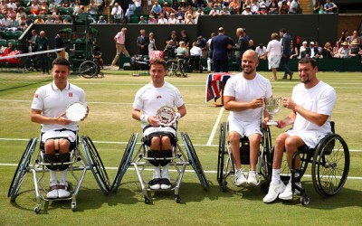 Wimbledon | Brits are inspirational in Wheelchair event