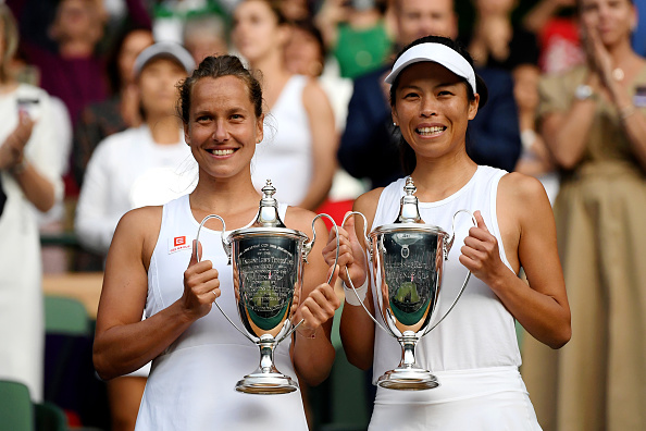 Wimbledon | Strycova & Hsieh take women's doubles title
