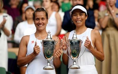 Wimbledon   Strycova & Hsieh take women's doubles title