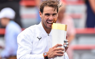 Montreal   Nadal trounces Medvedev for his fifth
