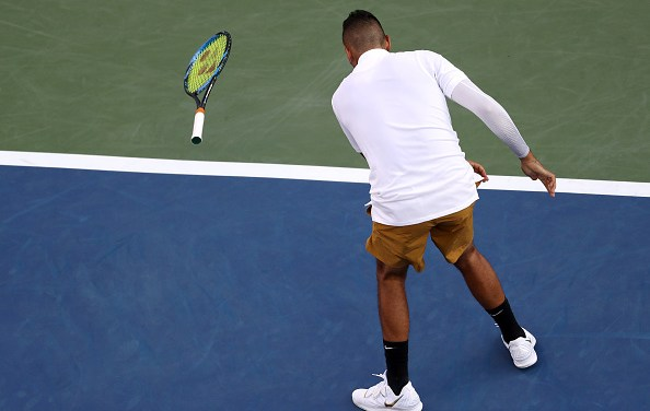 Cincinnati | Another Kyrgios meltdown as three top seeds exit