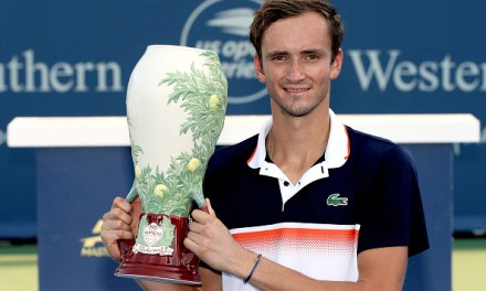 Cincinnati | Medvedev third time lucky