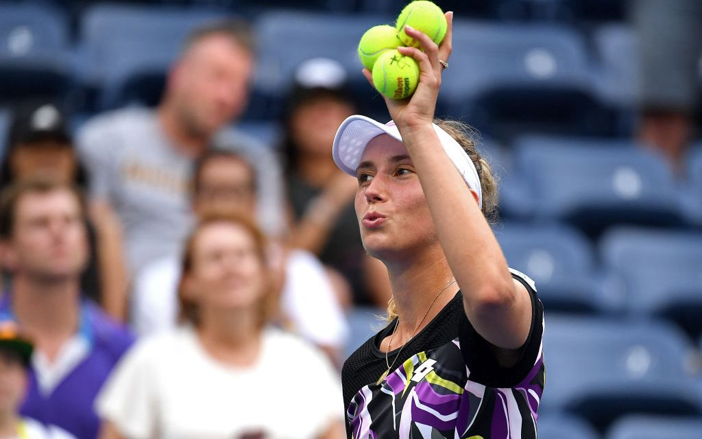 New York | American hopes shattered by Andreescu and Mertens