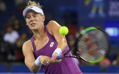 Wuhan | Riske upsets Svitolina, Kvitova next
