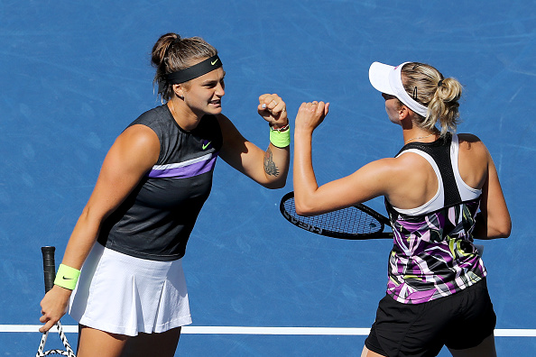 New York | Mertens & Sabalanka reach women's doubles final