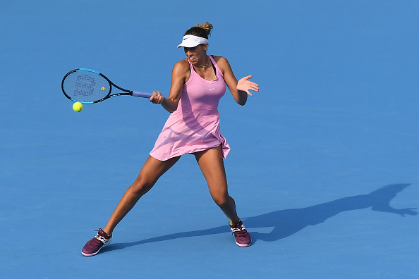 Zhuhai   Keys ends campaign on high with Martic win