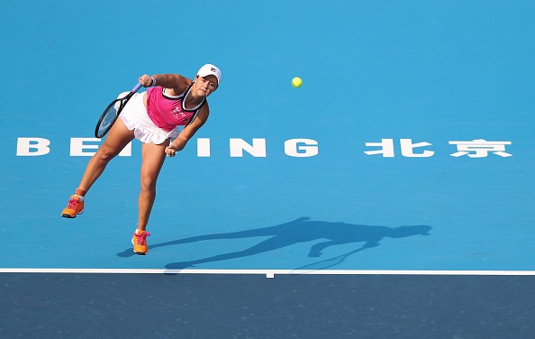 Beijing | Barty cruises as three seeds fall in China