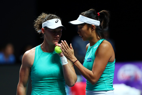 Shenzhen | Stosur-Zhang notch first win at WTA Finals