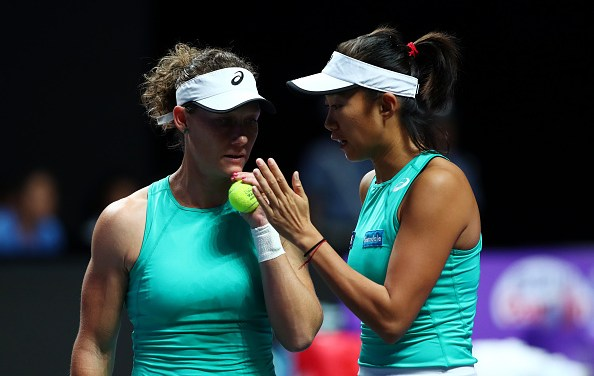 Shenzhen | Stosur-Zhang notch first win at WTA Finals