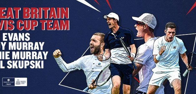 London | Leon Smith names Great Britain Davis Cup Squad