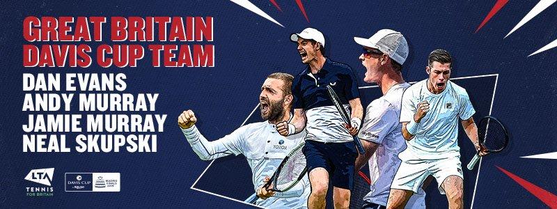 London   Leon Smith names Great Britain Davis Cup Squad