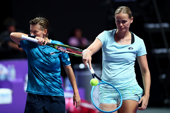 Shenzhen | Doubles semi-finals completed with Groenefeld & Schuurs