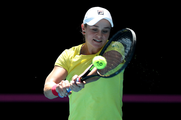 Perth | Barty leads Fed Cup favourites Australia in Final vs France