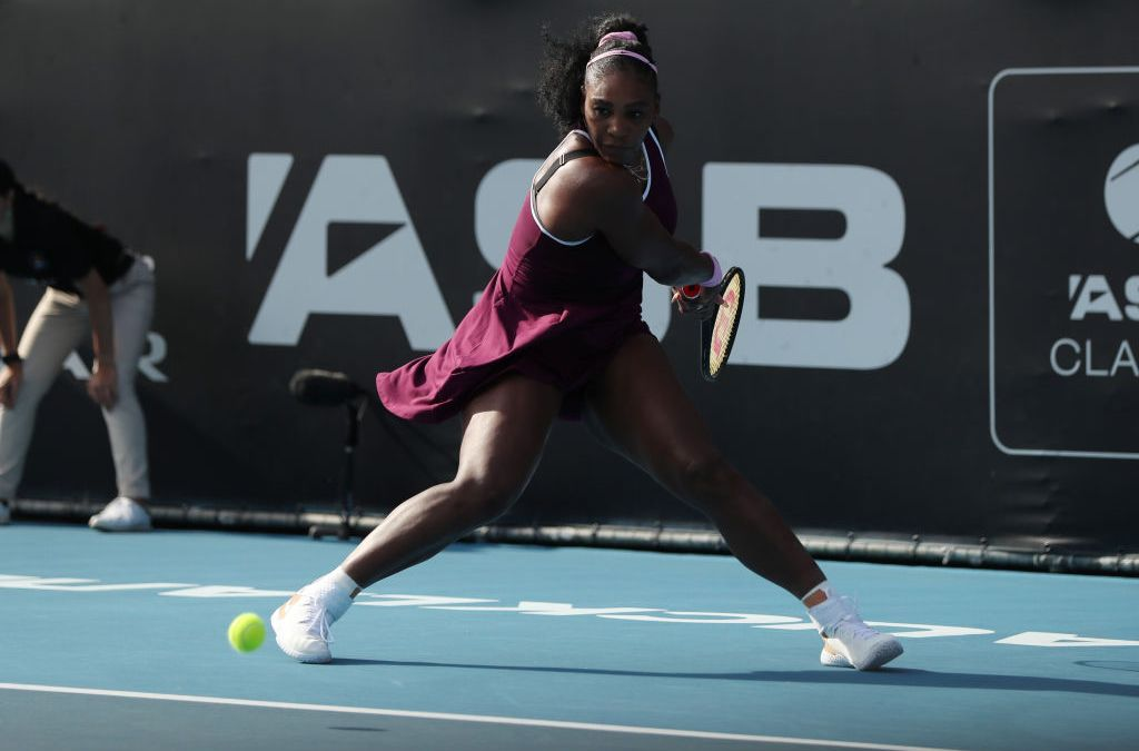 Auckland | Serena in the zone