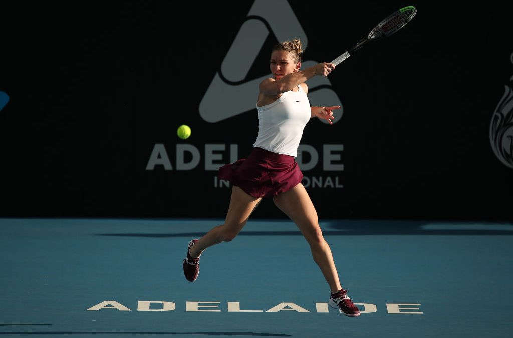 Adelaide | Barty and Halep stay on track