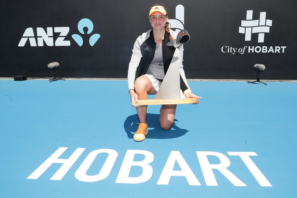 Hobart | Rybakina wins second title