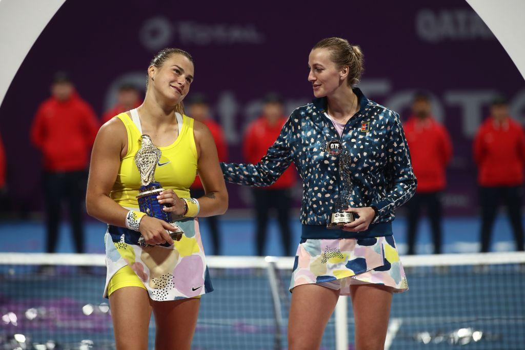 Doha | Fearless Sabalenka sees off Kvitova