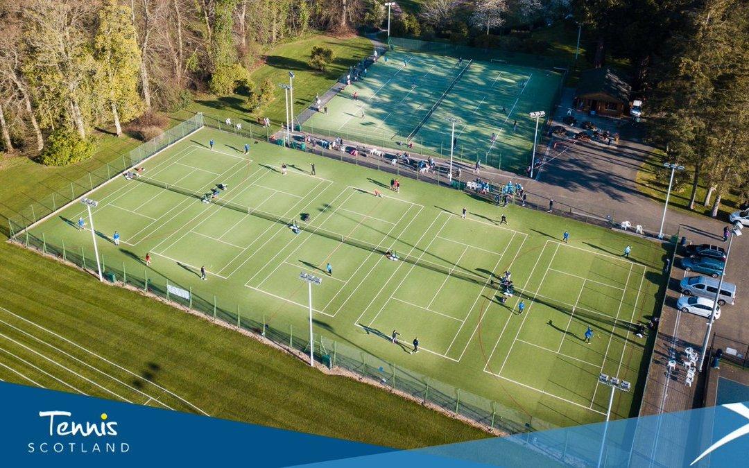 Tennis set to resume in Scotland