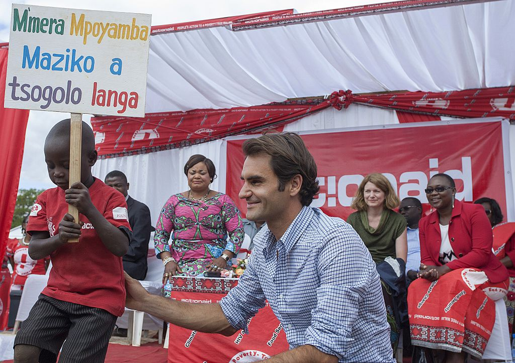 Roger Federer Foundation donates $1 million to Africa