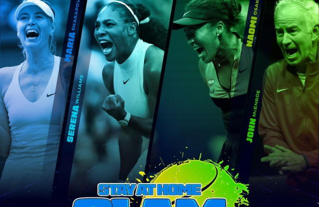 London | Serena and Sharapova to play Mario Tennis Aces Tournament