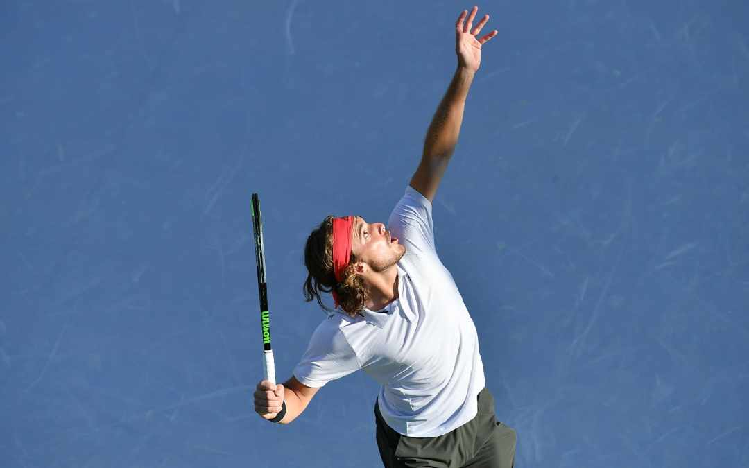 Tsitsipas extends UTS lead as Thiem's debut falters