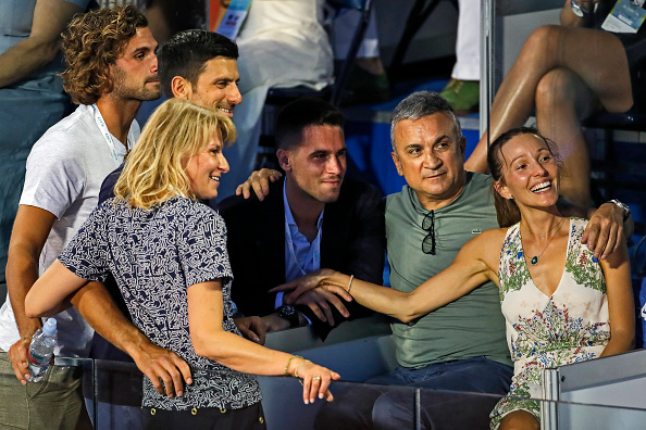 Novak's father blames Dimitrov