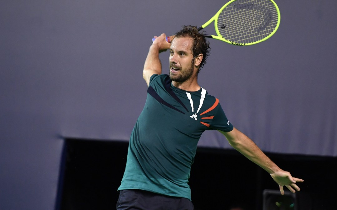 Gasquet takes out Dimitrov in UTS2