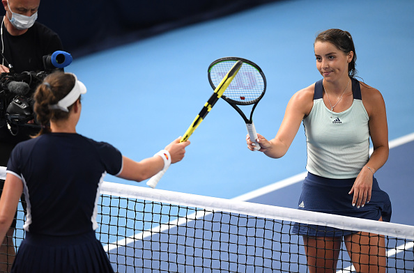 Burrage topples Konta, as Evans and Boulter also suffer defeats