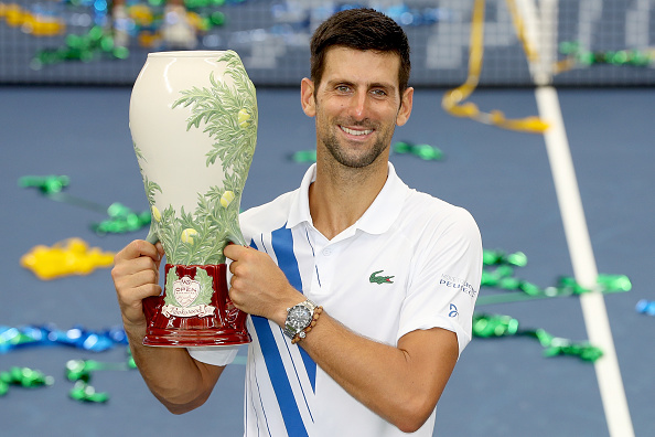 Djokovic Claims The Cincy Title Eventually Tennis Threads Magazine