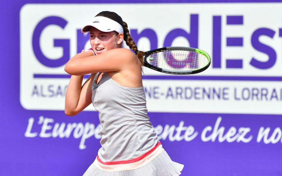 Ostapenko advances as Bertens retires in Strasbourg