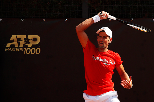 Rome: No promises from Novak as Paire loses his rag