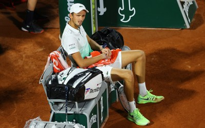 Nadal is through but Medvedev crashes out