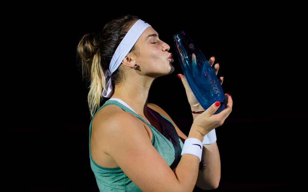 Sabalenka ousts Azarenka and wins Ostrava double
